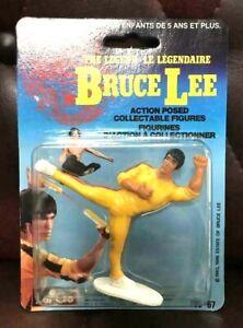 RARE-VINTAGE-Bruce-Lee-figure-mort-Jeu-Largo-America-13-cm-x-18-cm-du-Japon