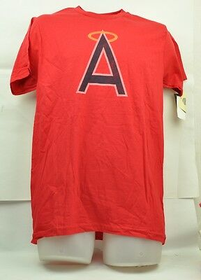 Stetig Mlb California Los Angeles Angels Wright & Ditson Herren Medium Distressed Chinesische Aromen Besitzen Fanartikel Baseball & Softball