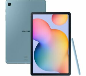 "SAMSUNG Galaxy Tab S6 Lite 10.4"" Tablet - 64 GB Angora Blue - Currys"