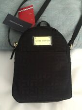 Tommy Hilfiger handbag Crossbody backpack Style Black 100% Authentic NEW$75