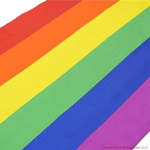 Rainbow Flag 3x5 FT Gay Pride Lesbian Peace LGBT w// Grommets ~ wholesale 10