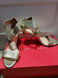 Details about Kelly and Katie Gold Pumps, Heels, Women\u0027s Size 6, Worn Once