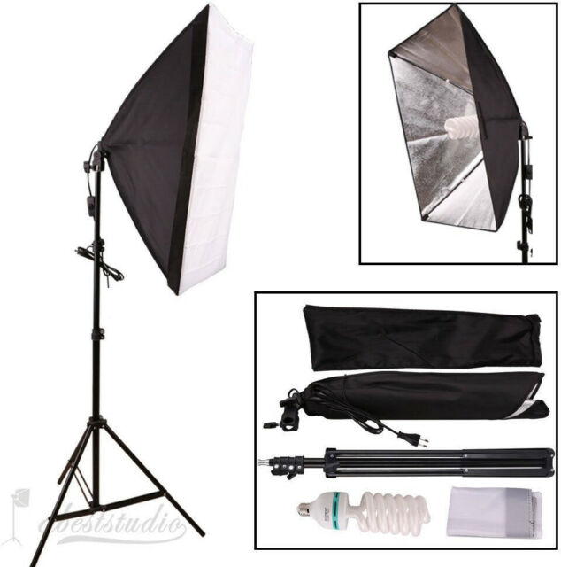 Abeststudio 135W Continuous Lighting Kit 50x70cm Softbox Soft Box Photo Studio