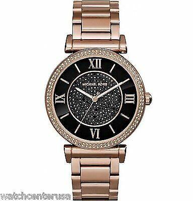 Michael Kors MK3356 Catlin Rose Gold Tone Watch 38mm Watches