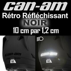 STICKER-AUTOCOLLANT-CAN-AM-CAN-AM-SPYDER-NOIR-REFLECHISSANT-ADHESIF-PRO-10-cm