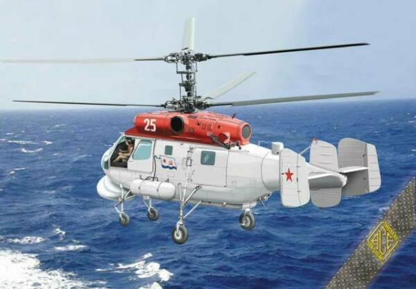 1//72 ACE 72307 PE parts Kamov Ka-25PS /'Hormone-C/' Soviet Naval Helicopter
