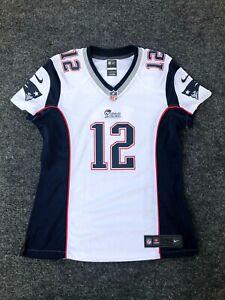 Details about NFL Tom Brady #12 New England Patriots Nike Women's Bright White Jersey Medium