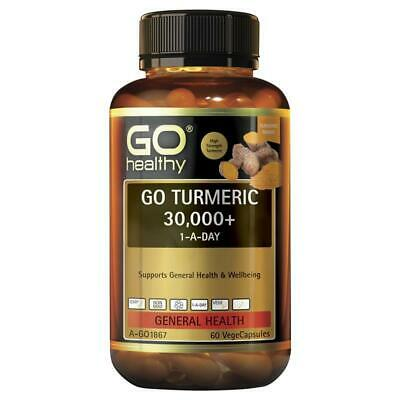 GO Healthy Turmeric 30000+ 1 A Day 60 Vege Capsules | eBay
