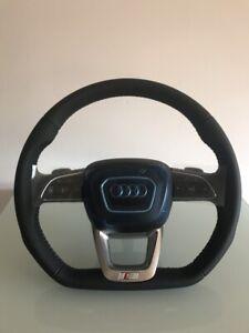 Audi-SQ3-Q3-S-line-Lenkrad-Airbag-Abgeflacht-Steering-Wheel-83A-419-091N