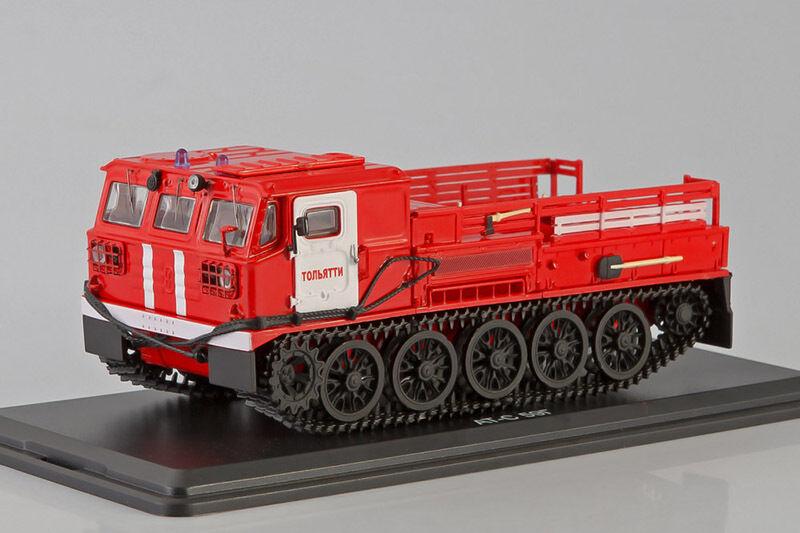Feuer - crawler artillerie traktor ats-59g an modellen 1 43 ssm3008
