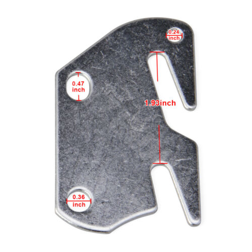 Rail Frame Bracket Claw #10 Hook Plates Fit Wooden Bed Headboard Footboard