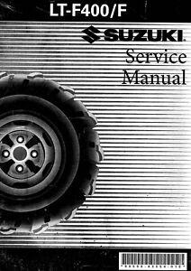 suzuki eiger lt f400 ltf400 ltf 400 2002 2003 2004 2005 service rh ebay com suzuki eiger service manual free suzuki eiger 400 service manual pdf download