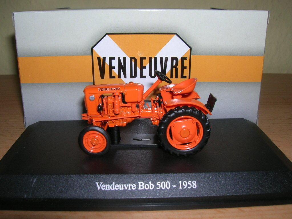 Uh Vendeuvre Bob 500 orange Année de Construction 1958 Tracteur Trekker, 1 43