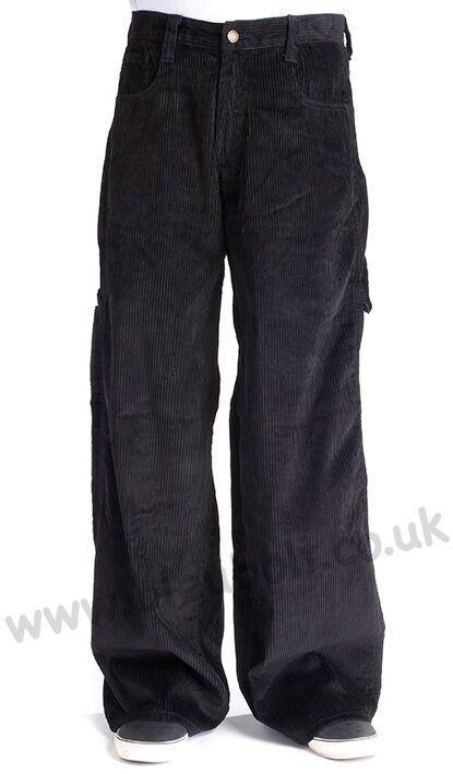 blubolt 24 24 24  Orlo Skater BAGGY carpentiere corde in Velluto a Coste Pantaloni Pantaloni Stile 2277 9098bd