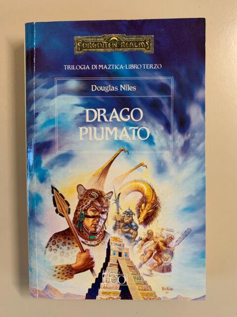 Drago Piumato di Douglas Niles Trilogia di Maztica libro terzo Ed. Armenia 1991
