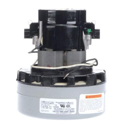 Tennant 130406 Blower Motor New Genuine Ametek Lamb 2 Stage Vacuum 116758-13