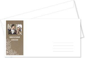 Briefumschläge Din Lang Vintage Kraftpapier Foto Kuvert Umschlag Ebay