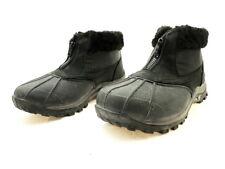 2ce9757c5a7cf0 Propet Women s Blizzard Ankle Zip II Boot 9 2e Black Leather nylon ...