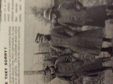 m6-9e ephemera 1918 picture germans line up after capture