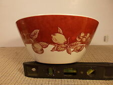 """Waverly China Garden Room Fruit Toile Serving Bowl 8 3/4"""" x 3 3/4"""""""