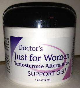 Just for Women Testosterone Alternative Support Gel Energy PMSLibidoRecovery eBay