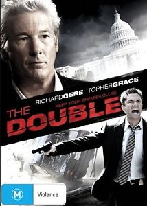 The-Double-DVD-2012-Richard-Gere-R4-Terrific-Condition