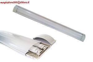 Plafoniere Per Tubi Al Neon : Plafoniera neon led t attacco reglette supporto tubo cm c