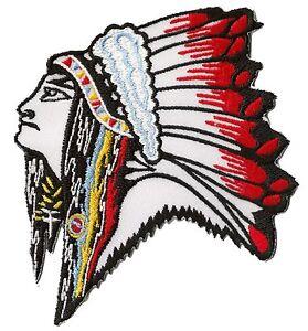 Ecusson-patche-Apache-Indien-Sioux-patch-thermocollable-transfert-hotfix