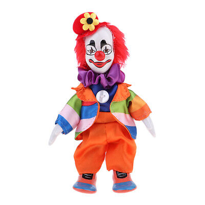 18cm Porcelain Clown Doll Comedian Dolls Model Party Ornament Kids Gifts  Toy | eBay