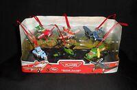 Disney Planes Christmas Holiday Ornaments 6pc Figure Set Gift Dusty Skipper Chug