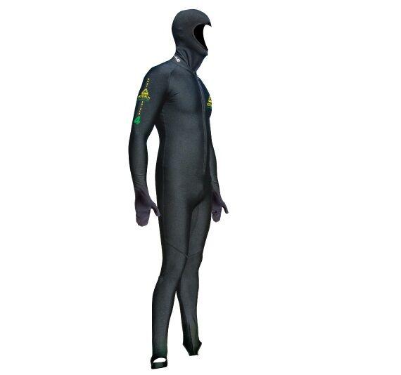 Adrenalin Bodyshield Micro Fibre Full Hooded Wetsuit 50+ UV sun stinger predectn