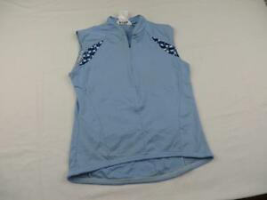 Pearl-Izumi-Womens-Blue-Bike-Cycling-Jersey-Size-Medium-Summer-Shirt-MTB-Road