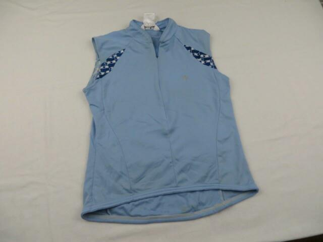 Pearl Izumi Womens Blue Bike Cycling Jersey Size Medium Summer Shirt MTB Road