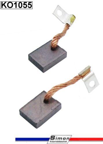 Kohlen für Bosch Gleichtsrom Lichtmaschine REE Dynamo 0101209031 VW T1 Bus