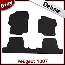Peugeot 1007 2005 2006...2008 2009 2010 2011 Tailored LUXURY 1300g Car Mats GREY