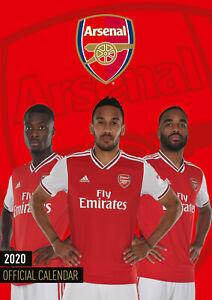 Arsenal Calendario.Dettagli Su Arsenal Football 2020 Calendario Calendario Da Parete Poster A3 Official Merchandise Mostra Il Titolo Originale
