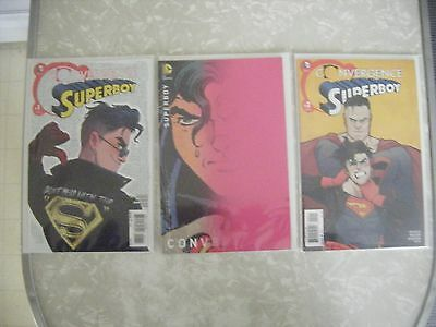 Superboy Convergence #2 Variant Edition D.C Universe Comics CB4450