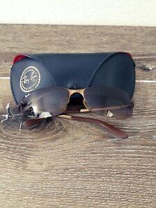 Ray Ban Gafas De Sol Polarizadas Para Mujeres Rb 3217 Marco De Bronce 014 13 58015 Ebay