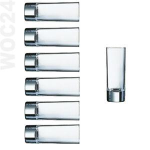 6-Arcoroc-Ouzo-Schnaps-Likoerglaeser-Glas-Glaeser-Ouzoglaeser-Schnapsglaeser-Islande