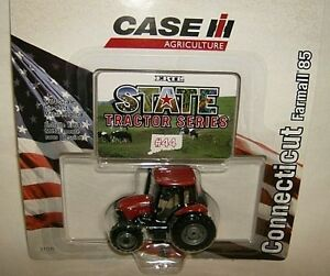 ertl-1-64-state-R11-CASE-MODEL-85-TRACTOR-CONNECTICUT