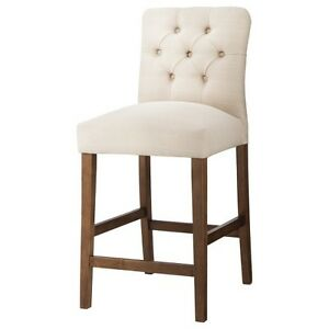 Brookline Tufted 25 Quot Counter Stool Hardwood Threshold Ebay