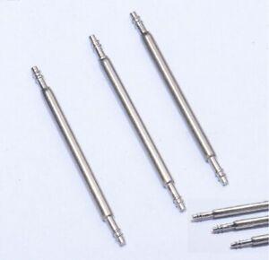2x Barrettes Ressort Pompe Piston Tige Pour Bracelet Montre 16/18/20/22/24mm De Nouvelles VariéTéS Sont Introduites Les Unes AprèS Les Autres