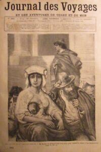 Zeitung-der-Voyages-Nr-341-von-1884-die-Bauern-von-der-Landhaus-Romaine-Gorilla