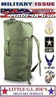 NEW Military Issue OD Duffle Bag Heavy Duty Cordura Nylon Sea Bag Duffel Bag