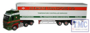 VOL01FR-Oxford-Diecast-Escala-1-76-OO-Gauge-H-E-Payne-Volvo-FH-Nevera
