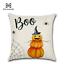 Halloween Happy Pillows Case Fall Sofa Pumpkin Throw Cushion Cover Home Decor w7