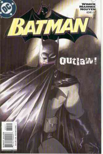BATMAN #634 NEAR MINT 2005 DC COMICS OUTLAW