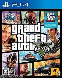 Used-PS4-PS4-Grand-Theft-Auto-V-SONY-PLAYSTATION-4-JAPANESE-JAPONAIS-IMPORT