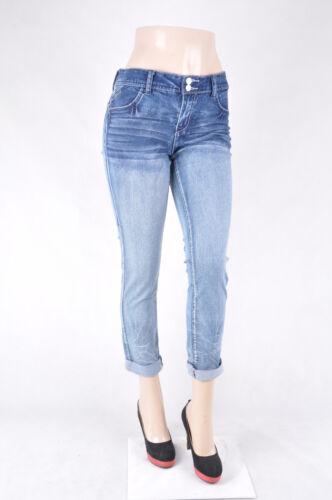"""/""""Amethyst/"""" Junior Stretch Denim Boy Friend Skinny jeans Free Shipping WG-460"""