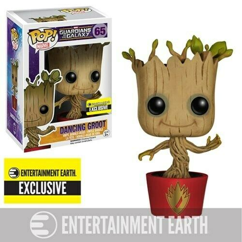 Vinyl-Entertainment Exclusive sangliers infernaux Groot Pop Guardians of the Galaxy